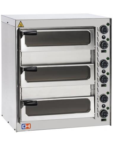 Horno Eléctrico de Pizza Diámetro 350mm con puerta Ciega o de Cristal a elegir - 1