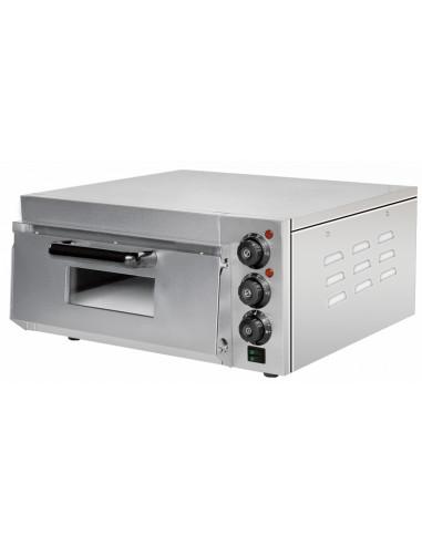 Horno Eléctrico para 1 Pizza Compacto de 560 x570 x280h mm para 1 Pizza PEK20 - 1