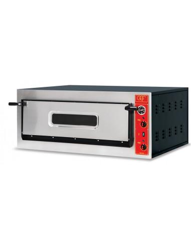 Horno Eléctrico de Pan y Pizza Bandejas 60x40cm de 230V - 400V TREVISO - 2