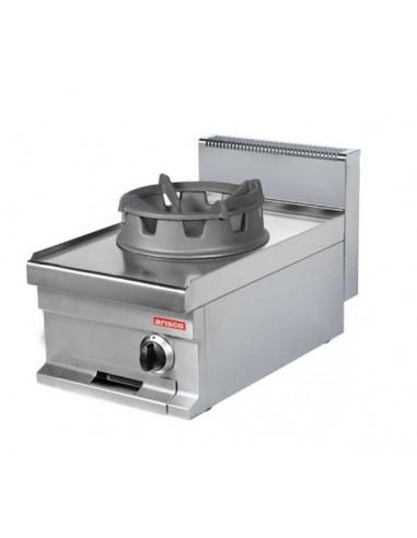 Cocina Wok a Gas de 400x700x290 (AxFxH) mm WR711S ARISCO - 1