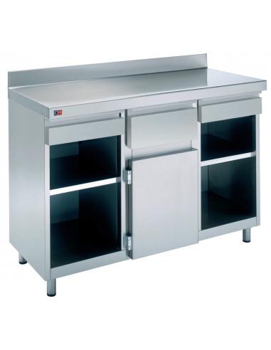 Mueble Cafetero de 1500 x600 x1045h mm MCA-150-O - 1