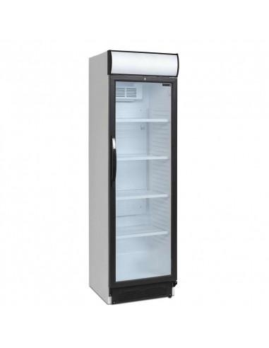 Armario Refrigerado 1 puerta de cristal 372 L con cabezal luminoso CEV425CP-I - 1