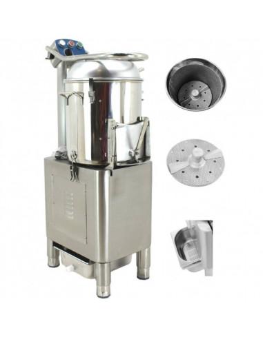 Peladora de Patatas de 20 Kg de 1100W HLP-20 - 1