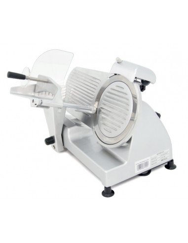 Cortadora de Embutidos cuchilla 220 mm y Potencia 240W con Base de Aluminio Fundido y Barnizado CF-220 - 1