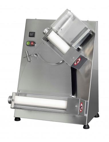 Laminadora Formadora de Pizza Semiautomática 2 rodillos S32 - 1