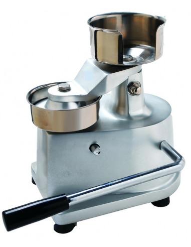 Formadora de Hamburguesas Diámetro 100 mm Manual de 200 x280 x280h mm WF100 - 1