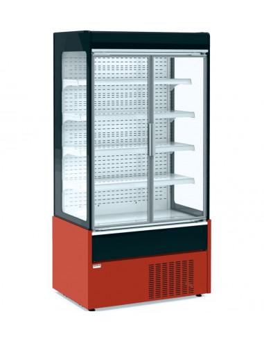 Mural Refrigerado Expositor Fondo 700 con Puertas de Cristal Batientes 1020x700x1990h mm MAE100PV - 1