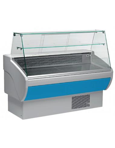 Vitrina Refrigerada Expositora Fondo 800 Largo 1955 mm Azul VPL200-A - 1