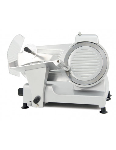 Cortadora de Embutidos cuchilla 250 mm y Potencia 240W con Base de Aluminio Anodizado CFA-250 - 2