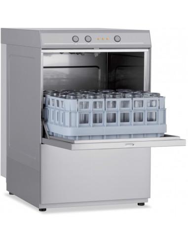 Lavavajillas Industrial con Bomba de Desagüe y Cesta de 38´5x38´5cm de 440 x530 x 670h mm CH400B - 1