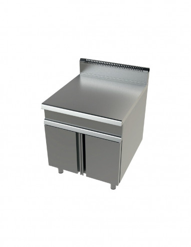 Mueble neutro acero inoxidable Serie 700 JUNEX 800x730x900 h mm BA7N800 - 2
