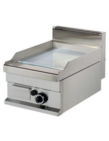 Fry tops a gas sobremesa Placa Cromo duro 15 mm 6,0kw 400x700x290h mm GG711SC ARISCO - 2