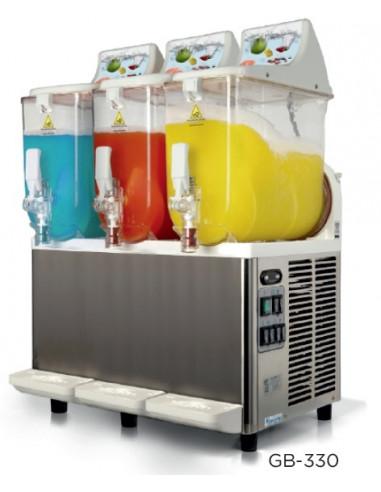 Granizadora GraniBEACH 10 + 10 +10 litros CARPIGIANI de 200 x400 x860h mm CARPIGIANI GB-330 - 1