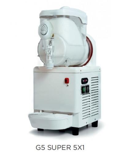 Máquina Preparadora Crema Fría 5 litros CARPIGIANI de 260 x400 x680h mm CARPIGIANI G5SUPER5X1 - 1
