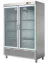 Armario Snack Refrigerado 2 Puertas de Cristal Fondo 726 de 1388 x726 x2067h mm ARCH-1202V - 1