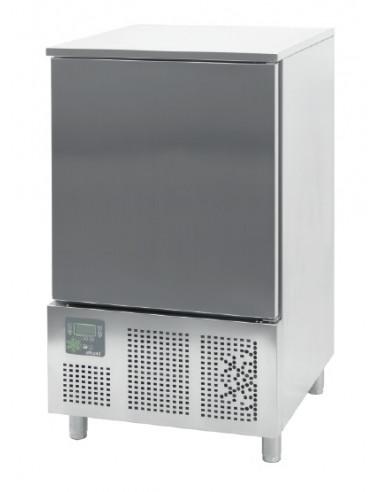 Abatidor de Temperatura Mixto 10 bandejas GN1/1 y 600x400 mm de 790x800x1420h mm CR-101 - 1