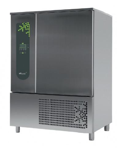 Abatidor de Temperatura Mixto 10 bandejas GN2/1 y 600x400 mm de 1270 x1090 x1800h mm CR-102 - 1