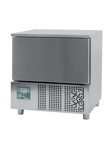 Abatidor de Temperatura Mixto 5 bandejas GN1/1 y 600x400 mm de 790x700x850h mm CR-051 - 1