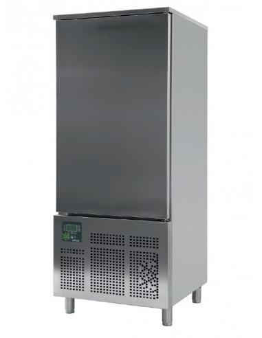 Abatidor de Temperatura Mixto 16 bandejas GN1/1 y 600x400 mm de 790x800x1950h mm CR-161 - 1