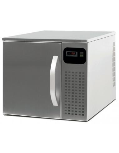 Abatidor de Temperatura Mixto 3 Bandejas GN1/1 de 560x700x515h mm CR03ECO - 1