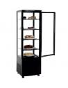 Armario Expositor Refrigerado 4 caras de Cristal Negro 238 litros XC238L-N - 1