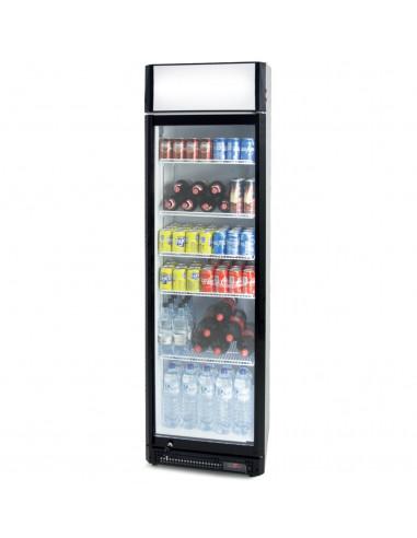 Nevera Refrigerada Expositora para Bebidas CS410SB - 1