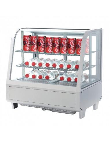 Vitrina Refrigerada sobremesa 100 litros Blanca XCW100L-B - 1