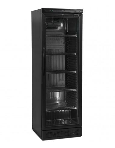Armario Refrigerado 1 puerta de cristal 372 L color NEGRO CEV425-I BLACK - 1
