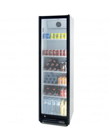 Armario Expositor Refrigerado 390 litros Puerta de Vidrio de 580 x610 x1980h mm CS410NS - 1