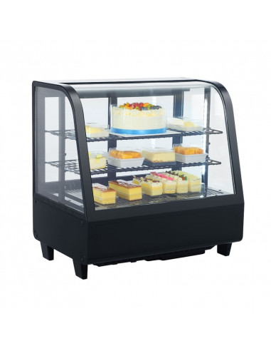 Vitrina Refrigerada sobremesa 100 litros Negra XCW100L-N - 1