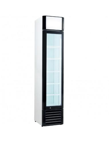 Armario Expositor de Congelación con Puerta de vidrio Slim line de 440x500x1930mm FSL-160 - 1