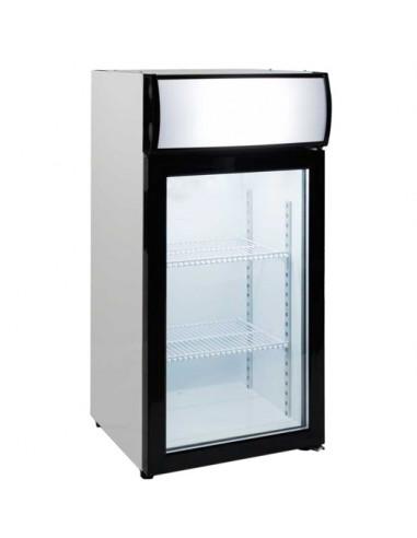 Expositor Sobremesa Congelación 80 litros 1 Puerta de 470 x460 x1000h mm FT-80L - 1