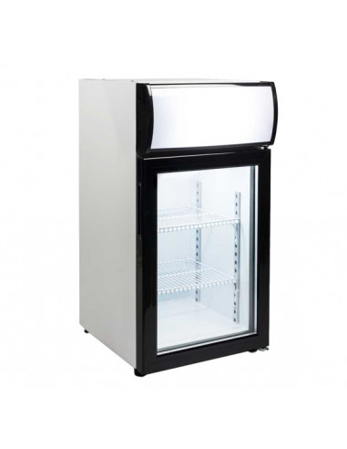Expositor Sobremesa Congelación 50 litros 1 Puerta de 430 x460 x855h mm FT-50L - 1
