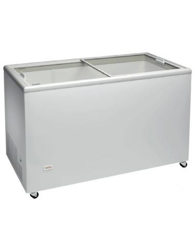 Congelador Horizontal Puerta Vidrio Corredera de 1503 x670 x895h mm ICE500NTVS - 2