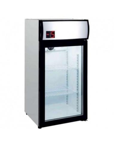 Nevera Expositora Especial Bebidas Temperatura -5ºC SZ80L - 1