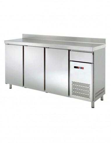 Frente Mostrador Refrigerado 4 puertas de 2542x600x1045h mm FMCH-250 - 2