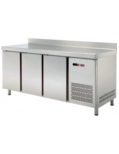 Mesa Snack Refrigerada 2 puertas Fondo 600 de 1492x600x850h mm MRCH-150 - 1