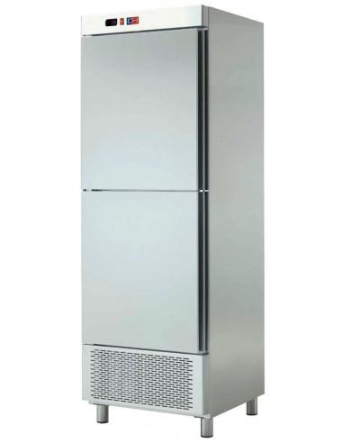 Armario Snack Congelador 2 Medias Puertas Fondo 728 de 695x728x2067h mm ACCH-602 - 2