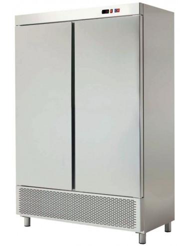 Armario Snack Refrigerado 4 Medias Puertas Fondo 726 de 1388x726x2067h mm ARCH-1204 - 1