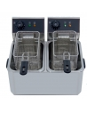 Freidora Eléctrica Doble 5 + 5 Litros SIN Grifo de vaciado IEF-4L-2-EGO - 1