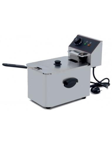 Freidora Eléctrica Profesional 4 Litros SIN Grifo de vaciado IEF-4L-EGO - 1