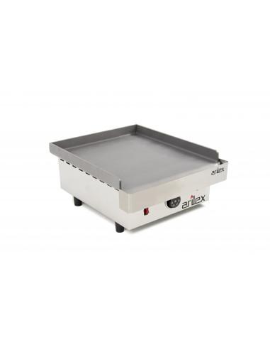 Plancha asar eléctrica Profesional en acero laminado de 6 mm con medidas 410x457x240h mm 40PEL - 1
