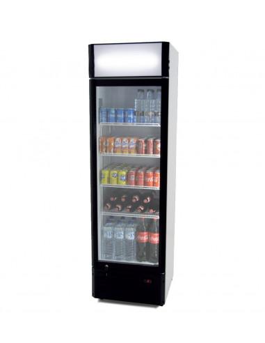 Armario Expositor Refrigerado 360 litros Puerta de Vidrio de 580 x610 x1980h mm CS360B