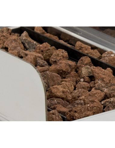 Caja de 3 kg de piedra volcánica incombustible y refractaria 3PVBOLSA - 2