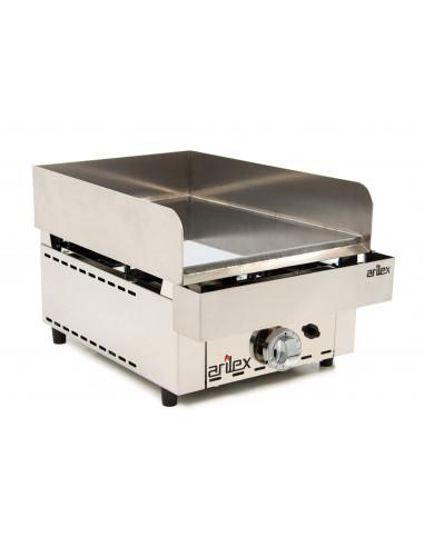 Frytops a gas de acero de 15 mm con baño de cromo duro con medidas 335x590x345h mm 35FRYGC - 2