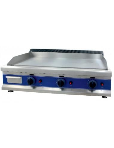 Frytops a Gas Acero 16 mm con Baño Cromo Duro 50 Micras de 950 x610 x340h mm ICG950C - 2
