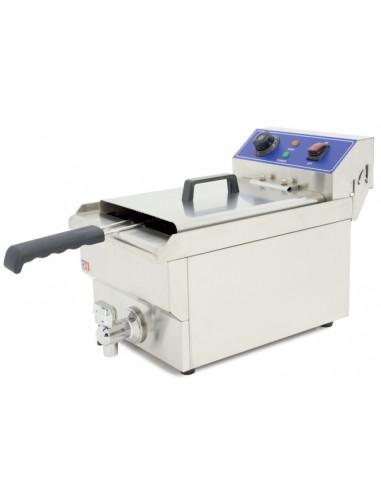 Freidora Eléctrica 16 litros CON Grifo de 340 x540 x410h mm IEF-161-EGO - 1